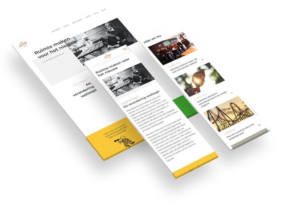 Wenders' nieuwe website
